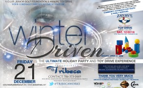 WINTER DRIVEN the Ultimate Toy Drive Experience exclusively @ Tribeca Lounge in downtown Augusta 12|21|12