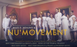 Jacksonville Fla. awards area gospel group 'Miles D. Mealing & NU Movement' of Edgefield SC.