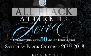 Glenn Hills H.S. Alumni celebrates over 50 years of excellence for homecoming 2013 in ALL BLACK attire @ Surreal at Surrey.