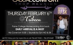 Tropicabana Reunion sparks interest for PC Alum Thursday at Tribeca: 2.6.14