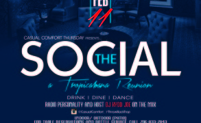 "The SOCIAL: ""A Tropicabana Reunion."" Drink | Dine | Dance"